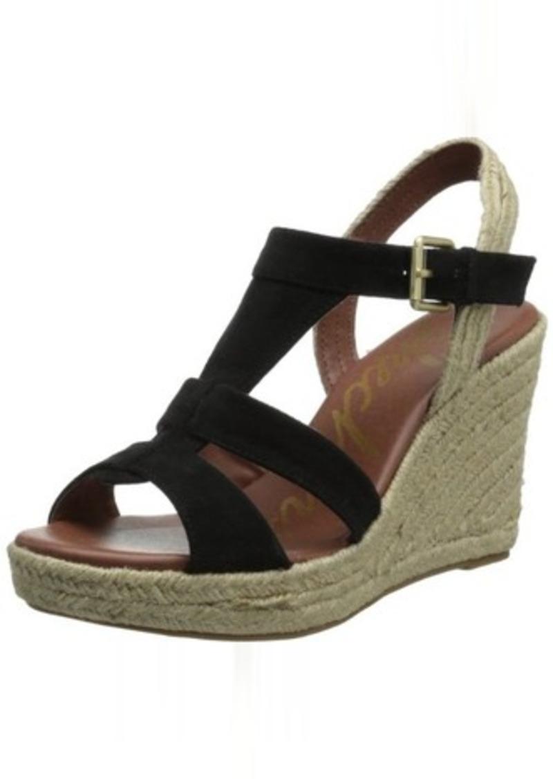 Skechers Skechers Usa Women S T Strap Sling Wedge Sandal