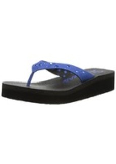 Skechers Women's Yoga Metal Stud Flip Flop