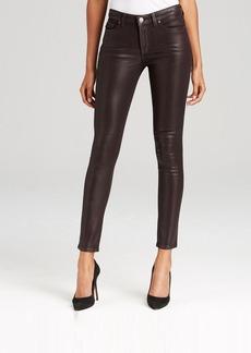 SPANX® Denim Skinny Jeans in Aubergine Wax