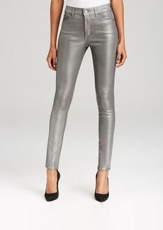 SPANX® Denim Skinny Jeans in Pewter Wax
