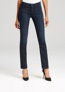 SPANX® Denim Straight Leg Jeans in Dark Dipped