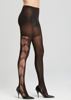 SPANX® Tights - Uptown Tight-End Fishnet Flair #2455