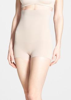 SPANX® 'Higher Power - Shorty' Waist Shaping Shorts (Regular & Plus Size)