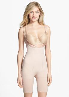 SPANX® 'Slimmer & Shine' Underbust Mid Thigh Shaper Bodysuit