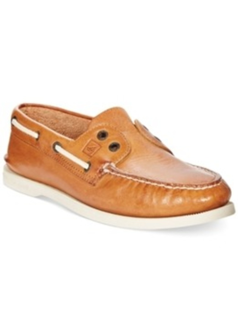 sperry top sider sperry top sider a o 2 eye slip on boat
