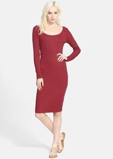 Splendid 'Belmar' Stripe Body-Con Dress