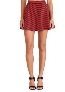 Splendid Belmont Stripe Skirt