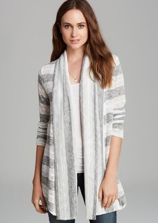 Splendid Cardigan - Rugby Pointelle Loose Knit