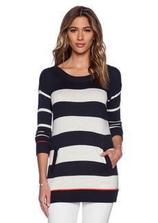 Splendid Cashmere Blend Stripe Sweater