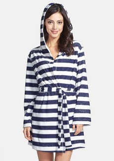 Splendid 'Classic True' Hooded French Terry Robe
