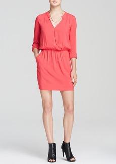 Splendid Dress - Cross Front Long Sleeve Woven