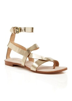 Splendid Flat Strappy Sandals - Crete