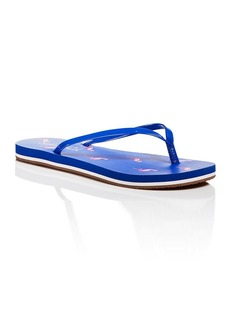 Splendid Flip Flop Sandals - Firefly Flamingo