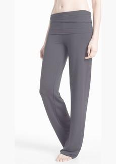 Splendid French Terry Foldover Pants