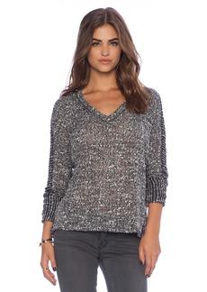 Splendid Hudson Melange Knit Sweater