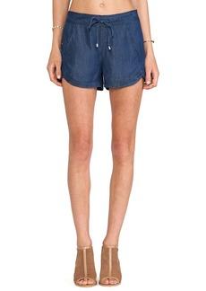 Splendid Indigo Dye Shorts in Blue