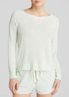 Splendid Intimates Lace Insert Pullover