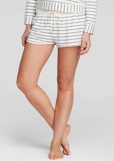 Splendid Intimates Lace Trim Stripe Short