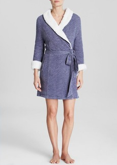 Splendid Intimates Sherpa Lined Terry Robe