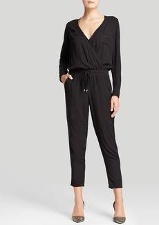 Splendid Jumpsuit - Long Sleeve Cross Front