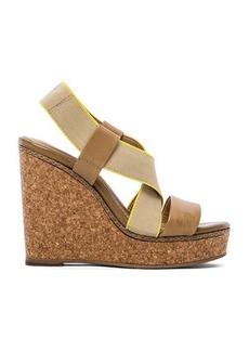 Splendid Kellen Wedge Sandals in Beige