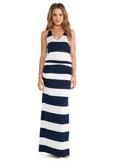 Splendid Luna Lake Stripe Maxi Dress