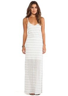 Splendid Marina Eyelet Stripe Dress