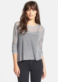 Splendid Micro Stripe Knit Pullover