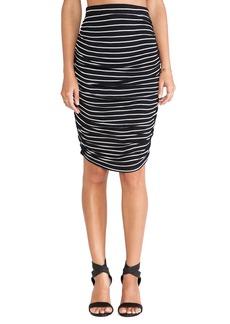 Splendid New Haven Stripe Skirt
