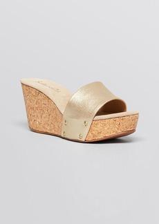 Splendid Platform Wedge Sandals - Greenville One Band Slide