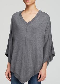 Splendid Poncho - V-Neck Sweater