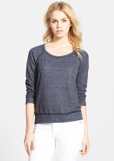 Splendid Reversible Raglan Pullover