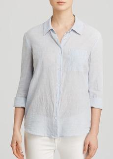 Splendid Shirt - Striped Crossover Back