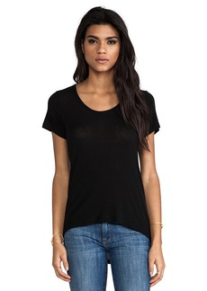 Splendid Short Sleeve Tee in Black