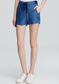 Splendid Shorts - Chambray Drawstring