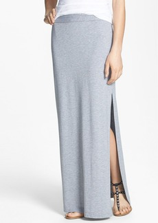 Splendid Side Slit Maxi Skirt