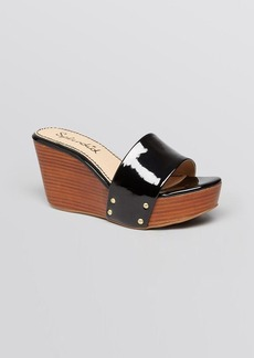 Splendid Slide Platform Wedge Sandals - Greenville