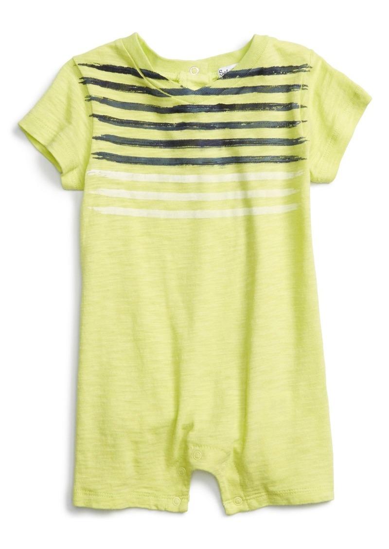 Splendid splendid stripe slub romper baby boys sizes 0 for Splendid infant