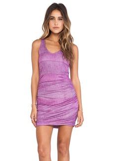 Splendid Textured Ink Stripe Dress