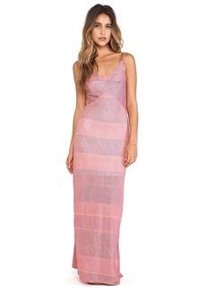 Splendid Textured Ink Stripe Maxi Dress