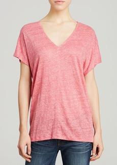 Splendid Top - Melange Linen Jersey