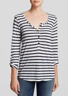 Splendid Top - Stripe Henley