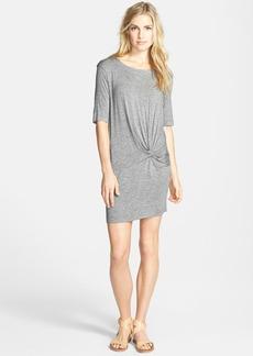 Splendid Twisted Jersey Dress