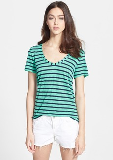 Splendid 'Venice' Stripe High/Low Tee