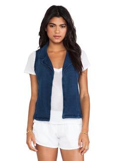 Splendid Vintage Indigo Dye Vest