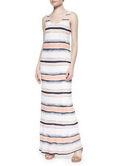 Splendid Zanzibar Striped Sleeveless Maxi Dress