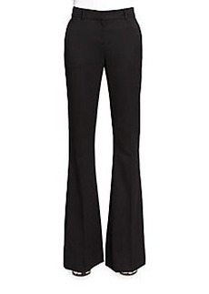 St. John Annabel Stretch Wool Flared Pants