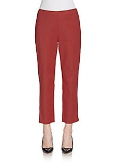 St. John Audrey Cotton Capri Pants