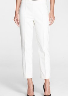 St. John Collection 'Alexa' Stretch Micro Ottoman Ankle Pants
