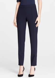 St. John Collection 'Carine' Side Zip Tropical Wool Pants